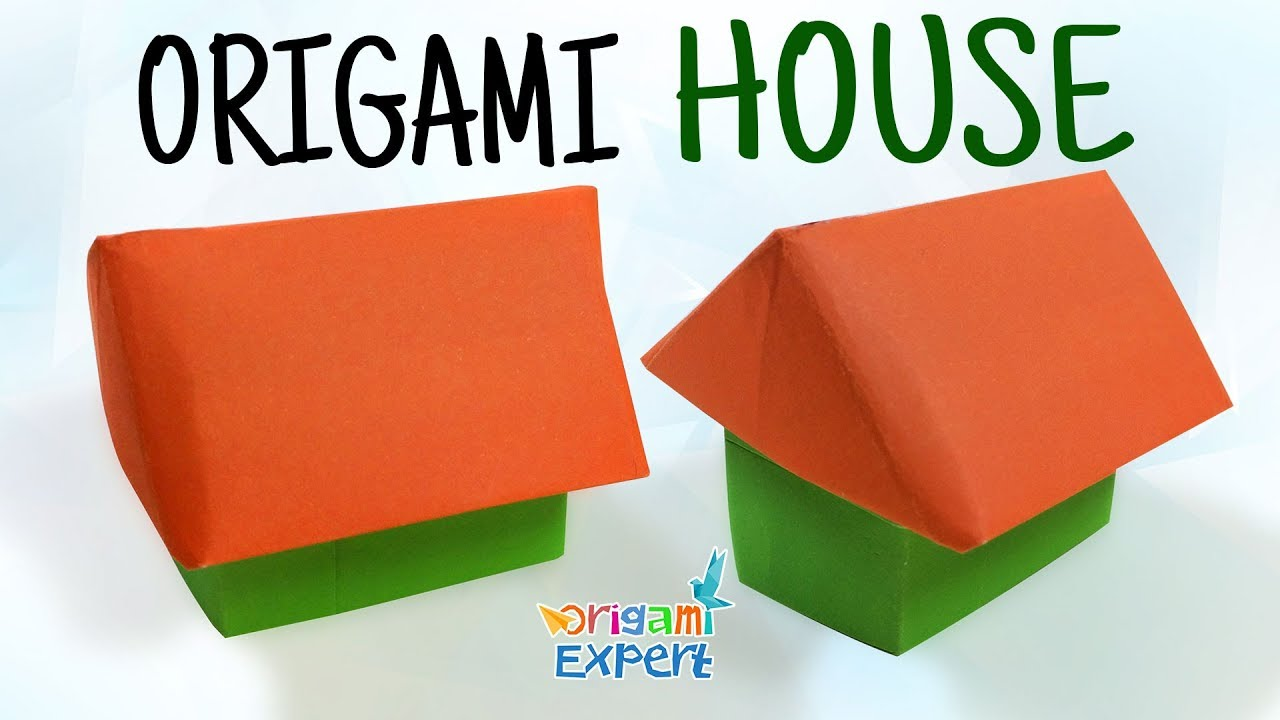 How to make an origami house 3d origami house 3d how to make how to make an origami house 3d origami house 3d how to make paper house easy jeuxipadfo Gallery