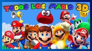 Repaso: Todos los Mario 3D ¡Los antecesores de Super Mario Odyssey!