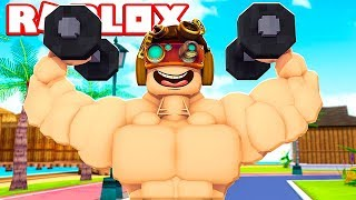 I'm more FORTE THAN ALL MY AMICI ON ROBLOX!!!