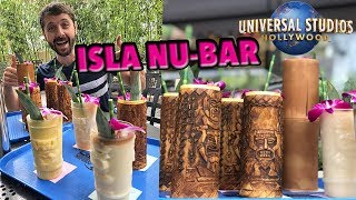 Trying EVERY Drink at Isla Nu-Bar at Universal Studios Hollywood