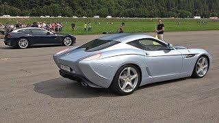 $1.5 Million Ferrari 599 GTZ Nibbio Zagato - Lovely Exhaust Sounds!