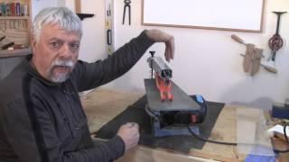 Scroll Sawing Introduction - A Woodworkweb.com Woodworking Video