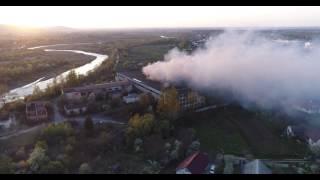 Пожежа Коломийської паперової фабрики. 21 квітня 2017