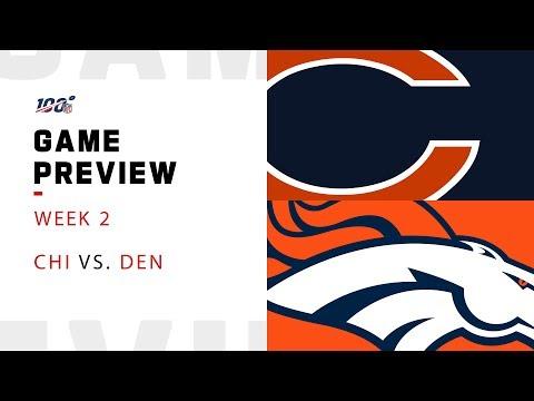 Chicago Bears vs. Denver Broncos Week 2 NFL Game Preview