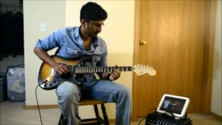 Anuraga Vilochananayi - Guitar Karaoke Lead