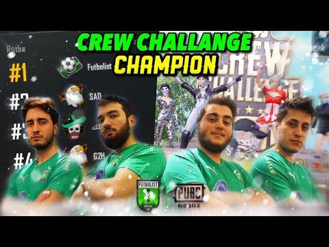 FUTBOLIST CREW CHALLENGE CHAMPION S12 - Pubg Mobile