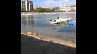 Palmanova beach in Majorca