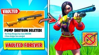 Top 10 BANNED Fortnite Guns RANKED WORST TO BEST! (PUMP REMOVED)
