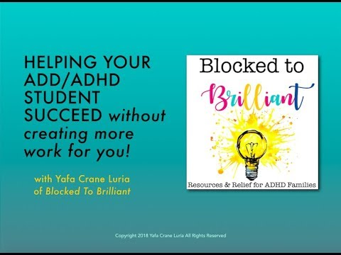 Why ADHD Kids Say I DON'T KNOW So Often   Blocked to Brilliant