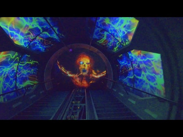 [4k] Space Mountain Ghost Galaxy 2016 (Amazing Low Light) Disneyland POV ride through