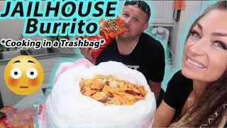 How to Make a JAILHOUSE Burrito in a Trash Bag 😱