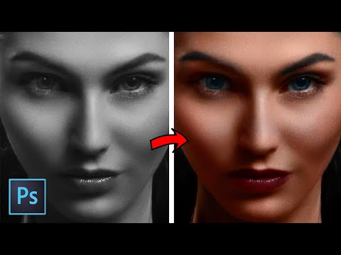 Colorize Black and White I Photoshop Tutorial I Mr Design 1995 thumbnail