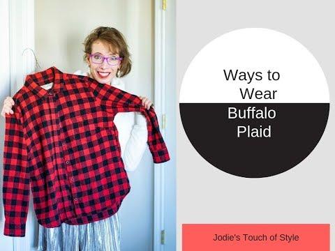 How To Wear Buffalo Plaid