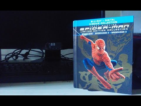 PRLostGalaxy2014 Blu-ray Review: Spider-Man (Sam Raimi Trilogy) Limited Ediition Collection