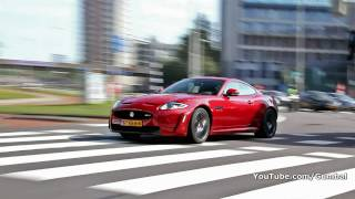 Jaguar XKR-S - Start up sound and accelerating!! 1080p HD