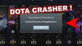 Dota 2 GAME CRASHER CHEAT - VALVE, FIX it please!