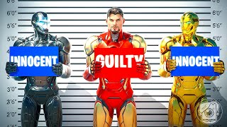 WHICH IRON MAN is GUILTY? (Fortnite Murder Mystery)