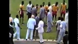 Yidnekachew Tessema, Yaunde, Cameroon 1985 (Video edited by You Tube)