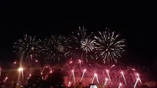 """Фестиваль фейерверков """"Ростех"""" 18 августа 2018 г. / Австрия, команда """"JOST"""""""