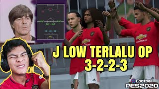 MATCH ONLINE LAWAN USER TRICK NGELAG AUTO MARAH | PES 2020 MOBILE J LOW FORMATION 3-2-2-3 OVER POWER