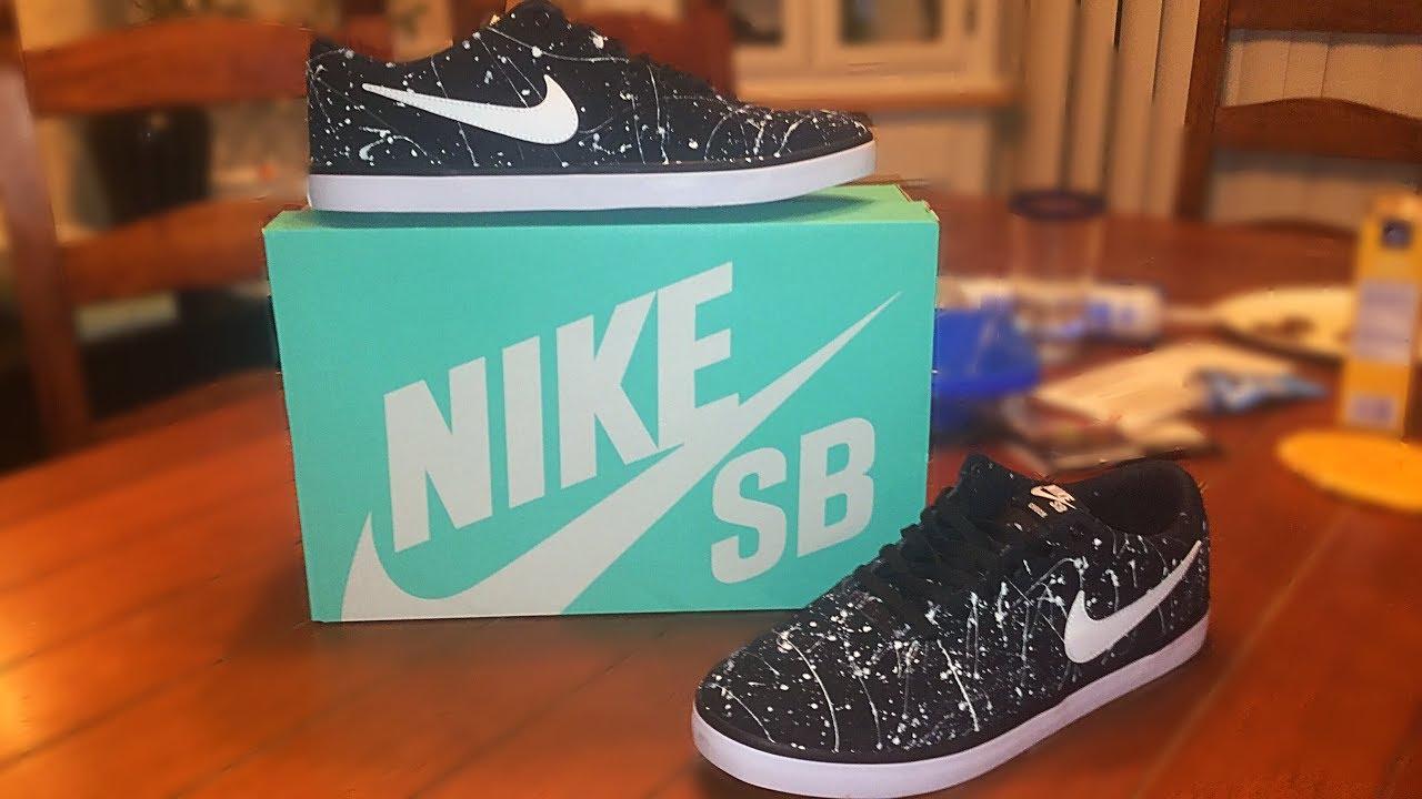 DIY- Custom NIKE SB Shoes! - YouTube