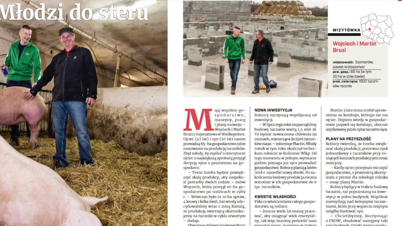 TOP RAPORT o młodych rolnikach – następcach w gospodarstwie