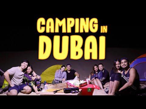 Camping in Dubai Desert