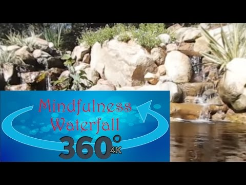iPain Mindfulness  360° 4k Video, Waterfall