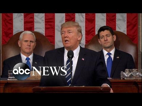 Trump Congress Speech: Must support \'incredible men and women of law enforcement\' | ABC News