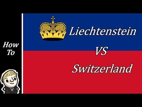 HoI4 - Modern Day - Liechtenstein vs Switzerland - Part 1 of 2