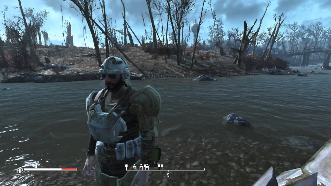 Fallout 4 Restored Water Reflections