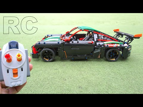 lego technic porsche rc mod by youtube. Black Bedroom Furniture Sets. Home Design Ideas
