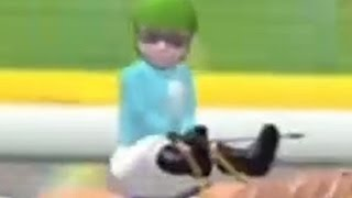 Holy Crap! This Horse Racing Game Is Definitely The Most Insane One In The Universe