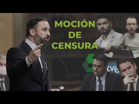 Santiago Abascal destroza a los críticos de la moción de censura