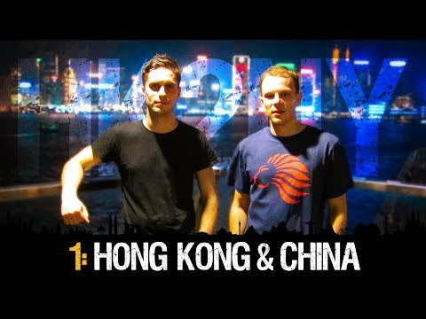 HK2NY Ep 1: Backpacking in Hong Kong & China