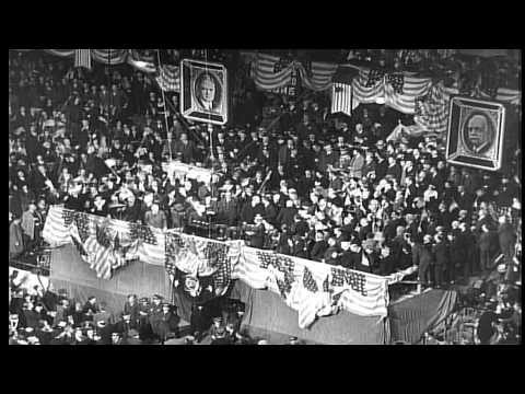 US President Herbert Hoover and Vice President Charles Curtis renominated at Repu...HD Stock Footage