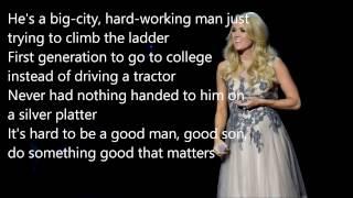 Carrie Underwood Smoke Break Lyrics