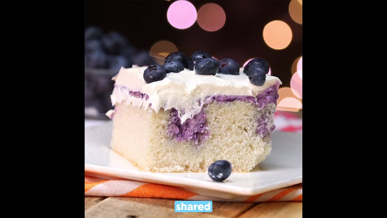 Berry Poke Cake