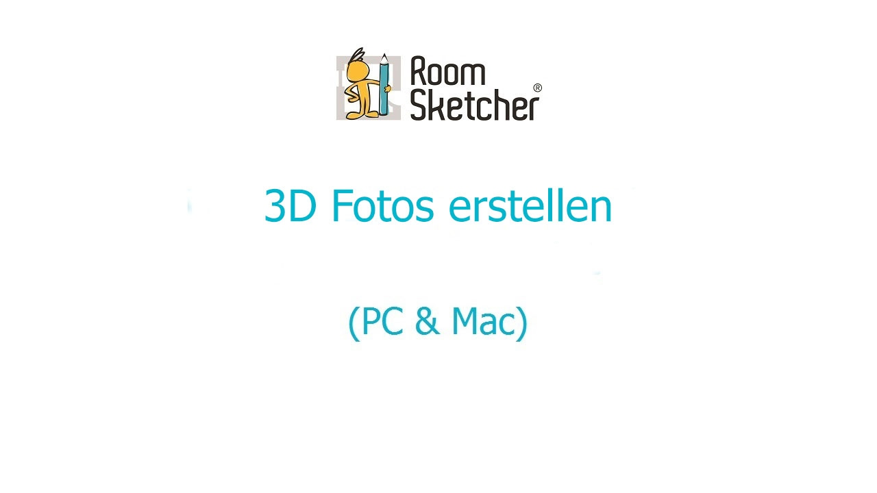 3d fotos erstellen pc mac roomsketcher raumplaner youtube. Black Bedroom Furniture Sets. Home Design Ideas