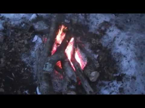 Super Warm Winter Camping In The Snow