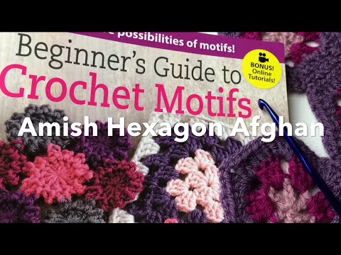 Granny Hexagon How To Read A Crochet Pattern Easy Youtube