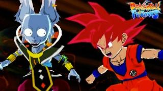 TRUE SUPER SAIYAN GOD RAGE! Recruiting SSG Goku | Dragon Ball Fusions 3DS