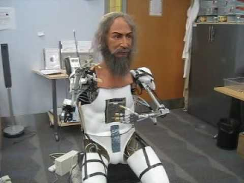 Android Humanoid Talking Robot - YouTube