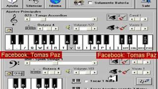 Kaoma La Lambada Piano Electronico