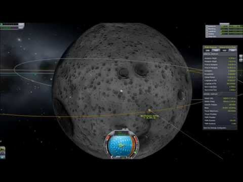 KSP: To the Mun and Back Using Only 3 Parts
