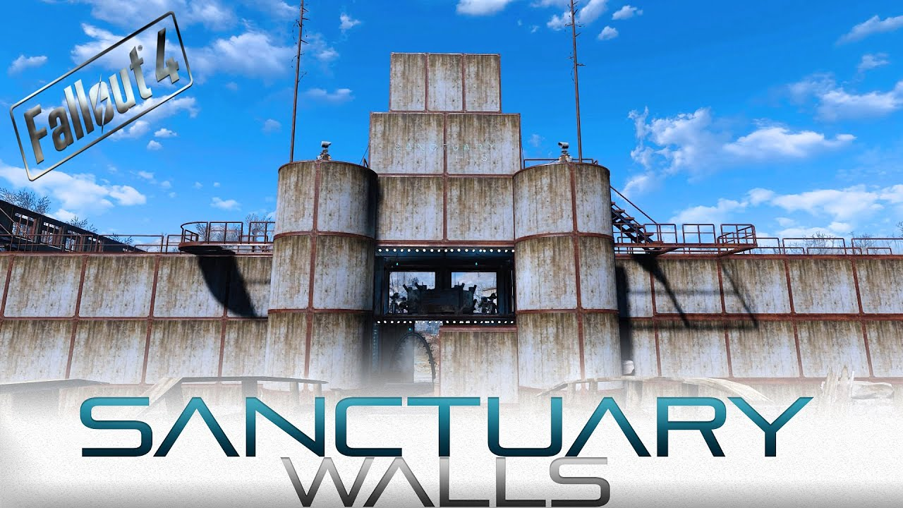 Fallout 4 sanctuary walls no mods youtube malvernweather Images