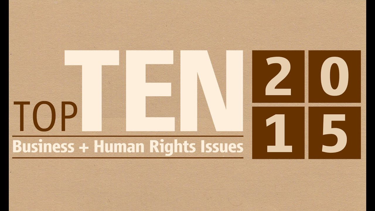 human right issues Issue papers highlight topical human rights concerns and suggest ways to tackle  such problems they aim to inform the public as well as authorities and.