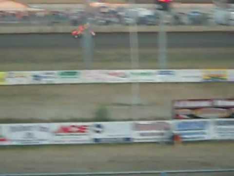 Steve Kinser Junction motor speedway. 8-14-12