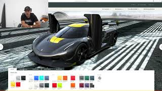 Paint by Supercar Numbers…Big Numbers