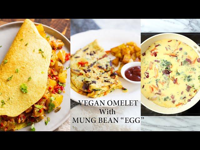 "VEGAN OMELET WITH MUNG BEAN ""EGG"" | Vegan Richa Recipes"